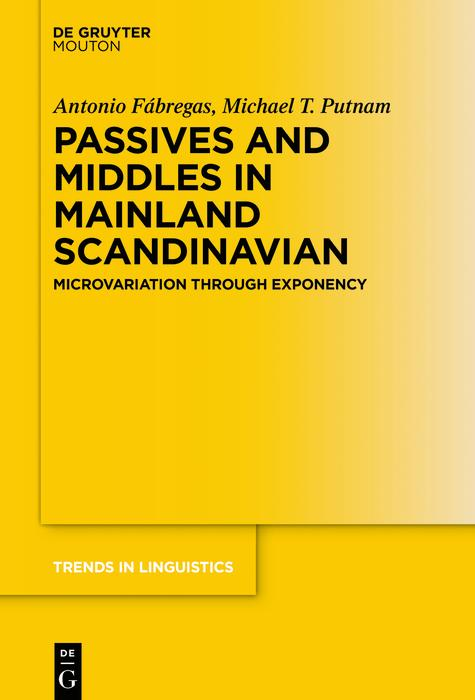 Passives and Middles in Mainland Scandinavian als eBook epub