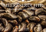 Meeresfrüchte (Wandkalender 2021 DIN A4 quer)