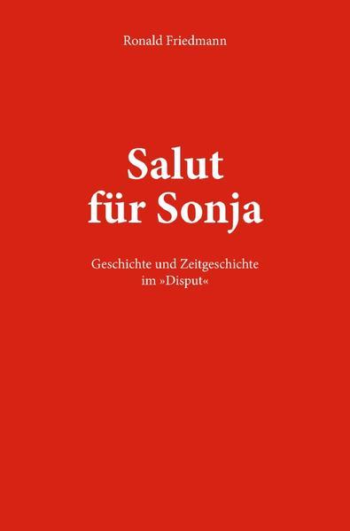 Salut für Sonja als Buch (kartoniert)