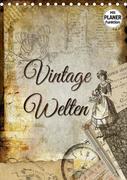 Vintage Welten (Tischkalender 2021 DIN A5 hoch)