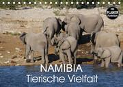 Namibia - Tierische Vielfalt (Planer) (Tischkalender 2021 DIN A5 quer)