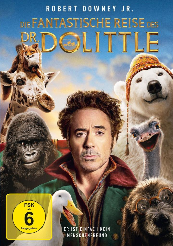 Die fantastische Reise des Dr. Dolittle als DVD