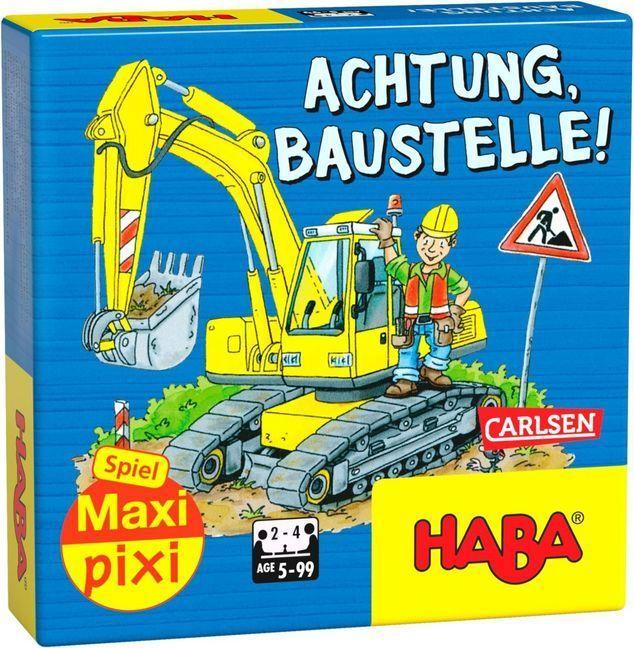 Achtung, Baustelle! (Kinderspiel) als Spielware