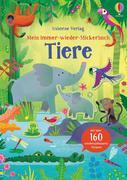 Mein Immer-wieder-Stickerbuch: Tiere