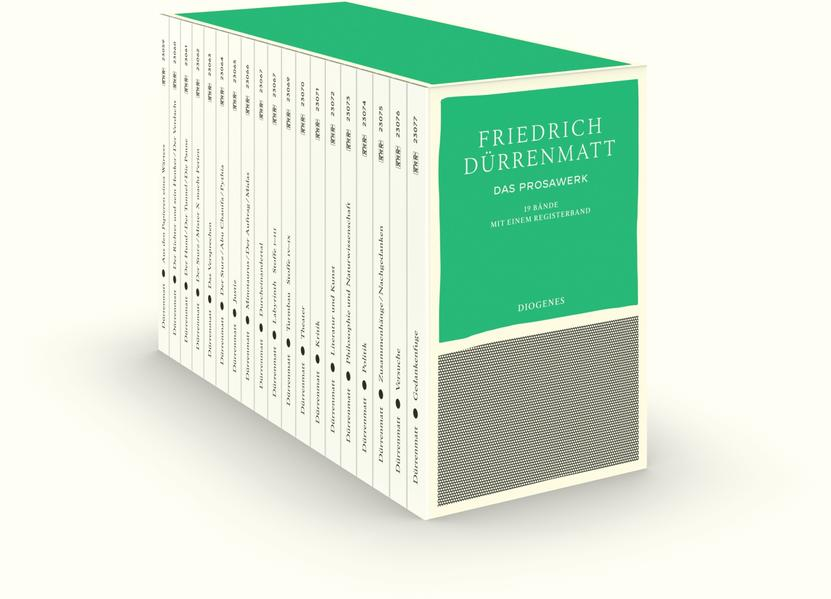 Das Prosawerk in 19 Bänden in Kassette als Taschenbuch