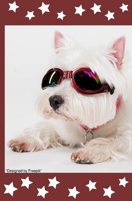 Süßes Hunde Notizbuch Businessplaner Geschenkidee für Mann Frau und Kind als Buch (kartoniert)