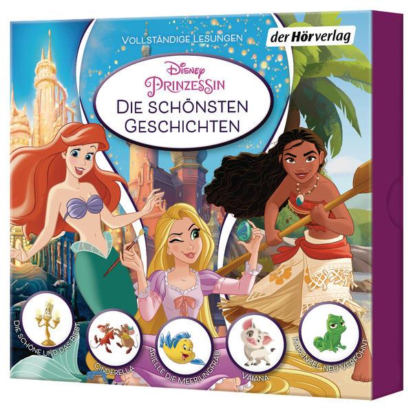 Image of Disney Prinzessin - Disney Prinzessin: Die schönsten Geschichten - (MP3-CD)