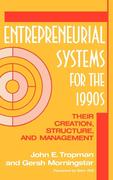 Entrepreneurial Systems for the 1990s