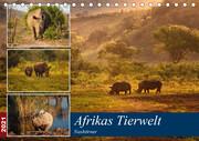 Afrikas Tierwelt: Nashörner (Tischkalender 2021 DIN A5 quer)