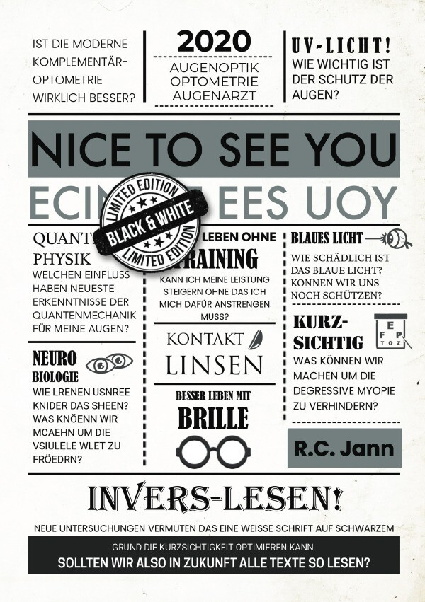 Nice to see You - black&white edition als Buch (kartoniert)