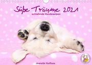 Süße Träume 2021 - schlafende Hundewelpen (Wandkalender 2021 DIN A4 quer)