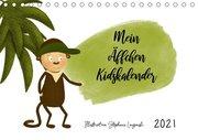 Mein Äffchen Kidskalender (Tischkalender 2021 DIN A5 quer)