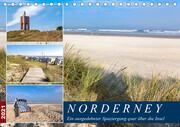 Norderney Spaziergang (Tischkalender 2021 DIN A5 quer)
