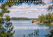 Sommer in Schweden (Tischkalender 2021 DIN A5 quer)