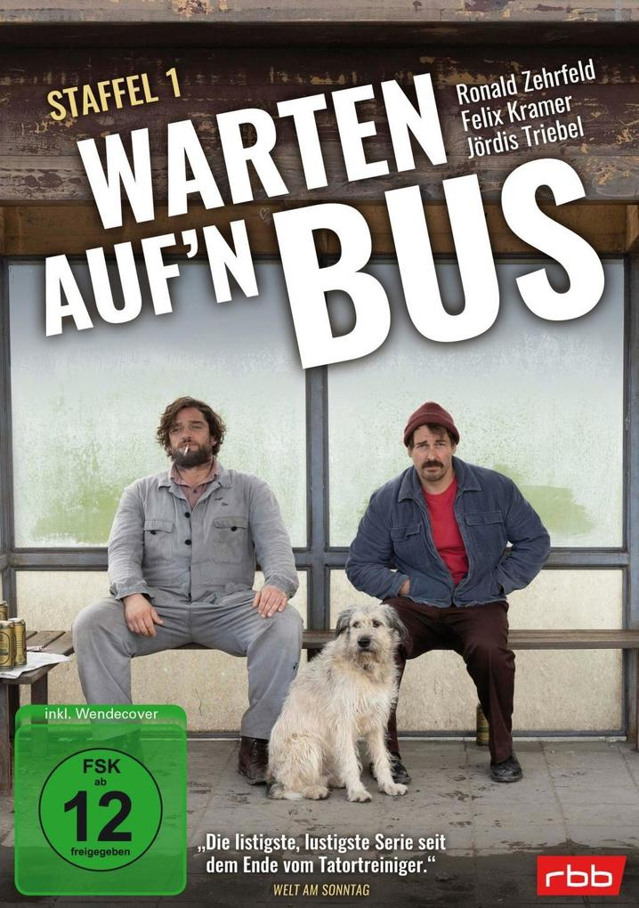 Warten auf'n Bus - Staffel 1 (2 DVDs) als DVD