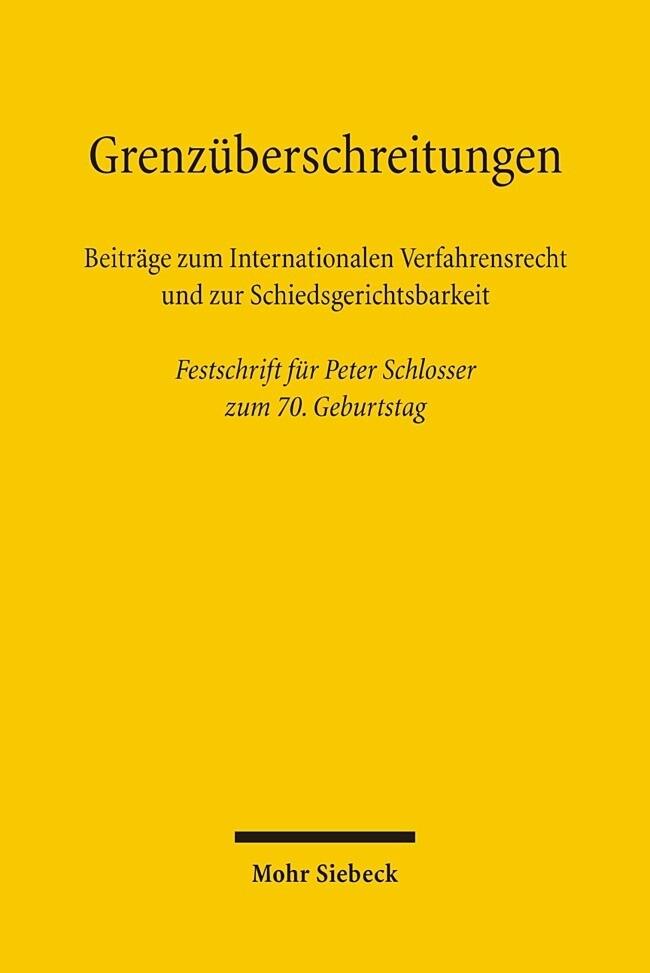 Grenzüberschreitungen als Buch