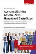Aushangpflichtige Gesetze 2021 Handel und Gaststätten