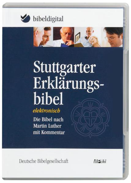 Stuttgarter Erklärungsbibel. CD-ROM für Windows...