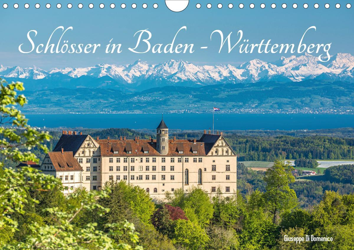 Schlösser in Baden-Württemberg (Wandkalender 2021 DIN A4 ...
