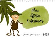 Mein Äffchen Kidskalender (Wandkalender 2021 DIN A4 quer)