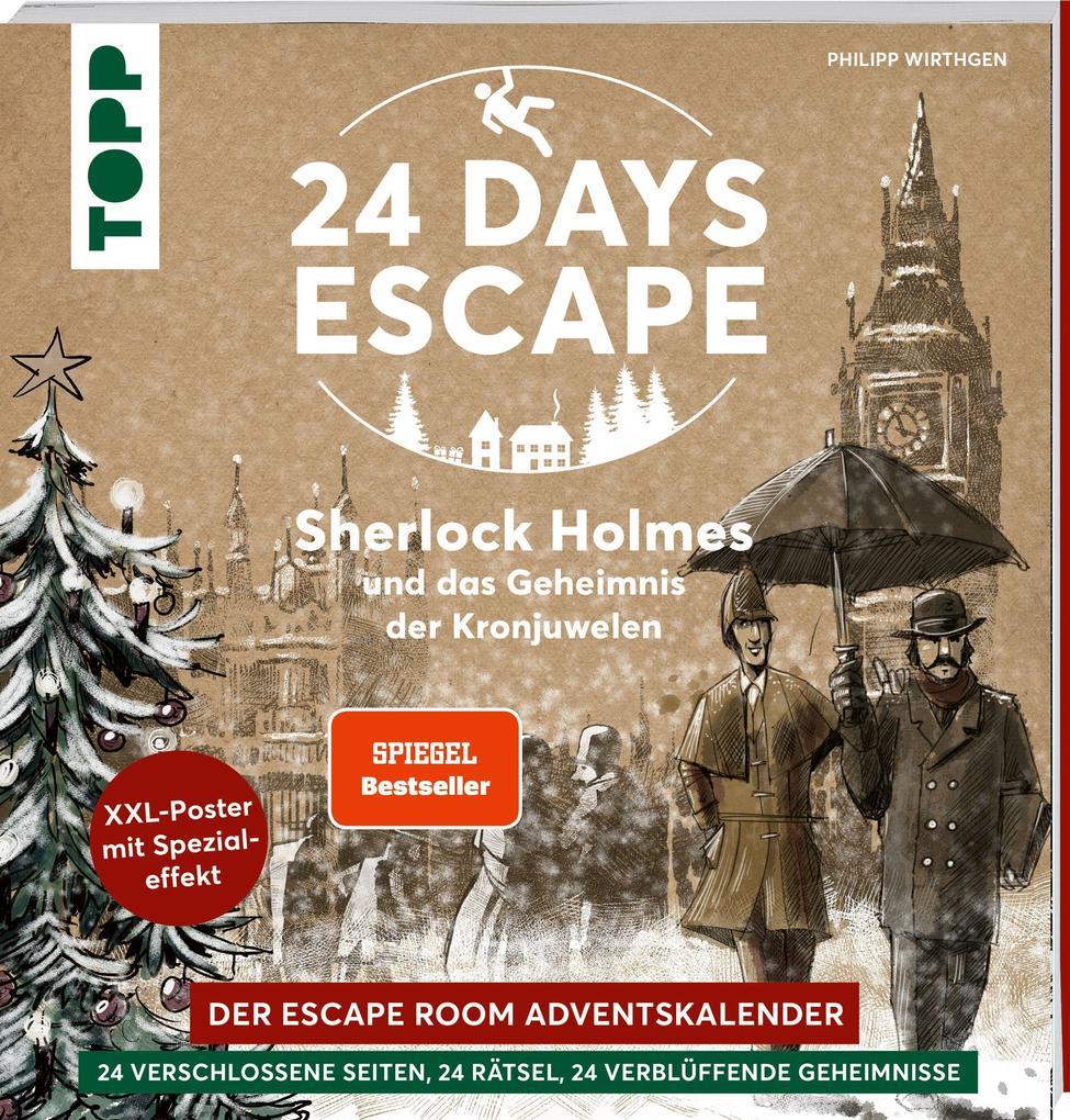 24 Days Escape - Das Rätsel-Adventskalenderbuch