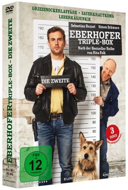 Die Zweite Eberhofer Triple Box als DVD