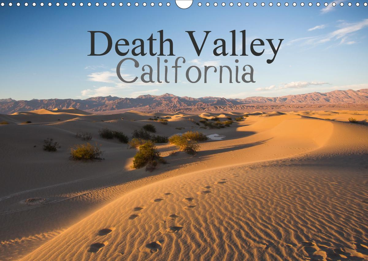 Death Valley California (Wall Calendar 2021 DIN A3 ...