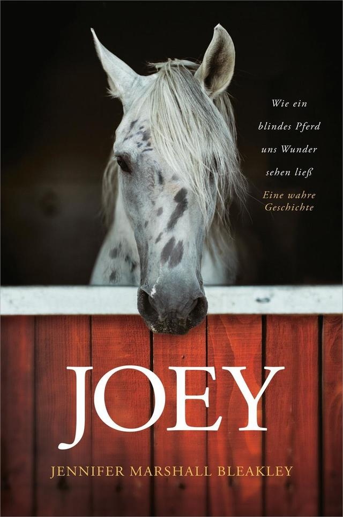 Joey Wie Ein Blindes Pferd Uns Wunder Sehen Liess Buch Kartoniert Jennifer Marshall Bleakley