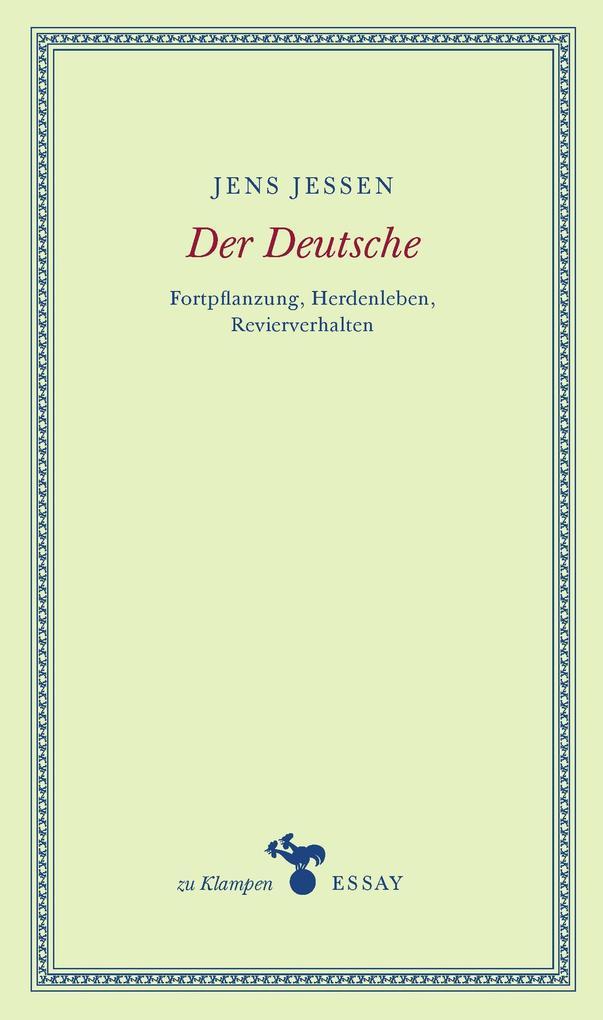 Der Deutsche als Buch (gebunden)