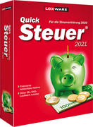 QuickSteuer 2021, CD-ROM