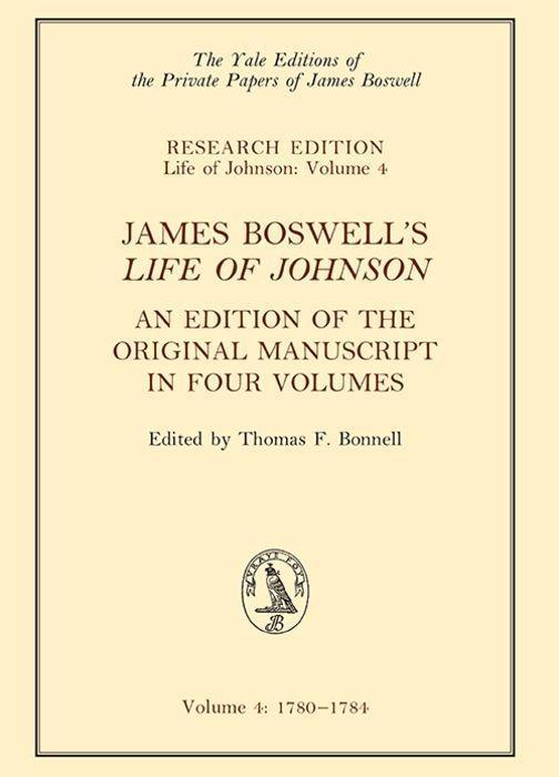 James Boswell's 'life of Johnson' als Buch (gebunden)
