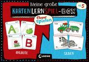 Clever spielen - Meine große KartenLernSpiel-Box - Anlaute/Silben