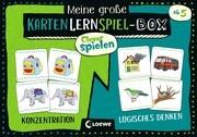 Clever spielen - Meine große KartenLernSpiel-Box - Konzentration/Logisches Denken