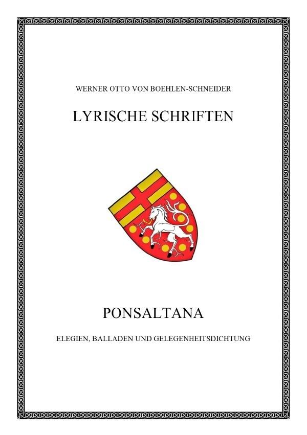 Ponsaltana als Buch (kartoniert)