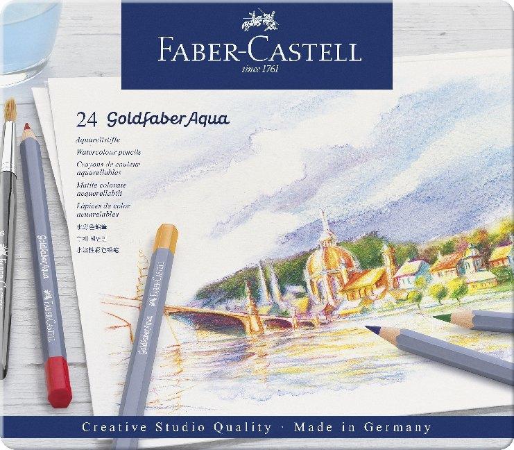 Faber-Castell Aquarellstift Goldfaber Aqua, 24er Metalletui als Sonstiger Artikel