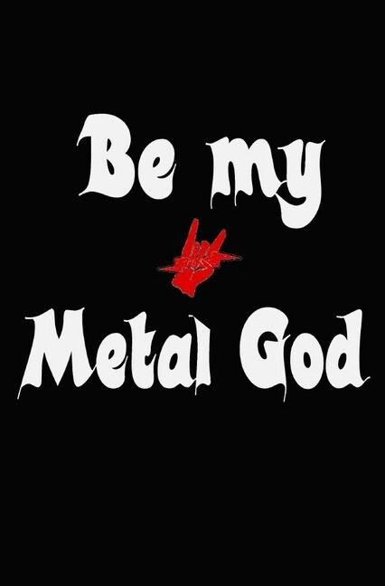 Lustig Heavy Metal Sprüche Notizbuch für Metal und Rock Fans punktiert dotted 68 Seiten als Buch (kartoniert)