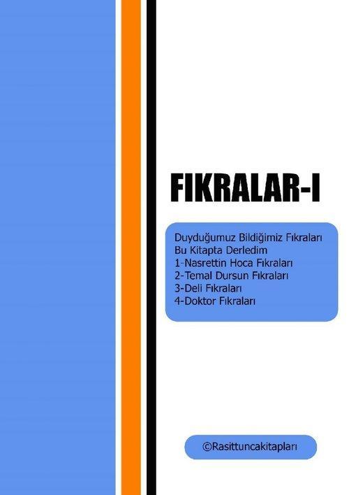 Fikralar-I als eBook epub
