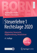 Steuerlehre 1 Rechtslage 2020