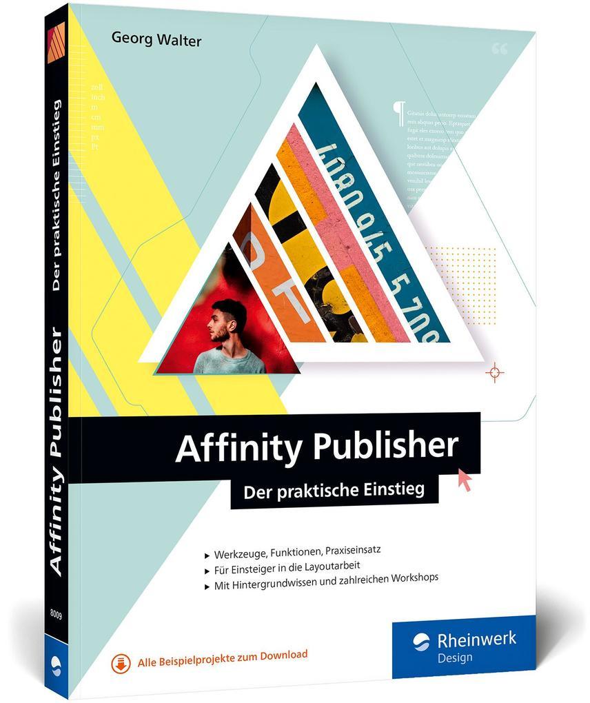 Affinity Publisher als Buch (kartoniert)