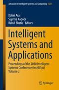Intelligent Systems and Applications