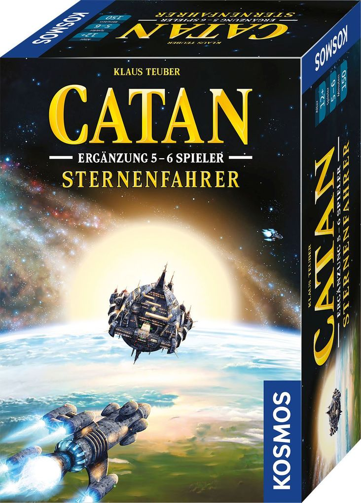 Image of CATAN - Sternenfahrer - Ergänzung 5 und 6 Spieler