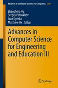 Advances in Computer Science for Engineering and Education III