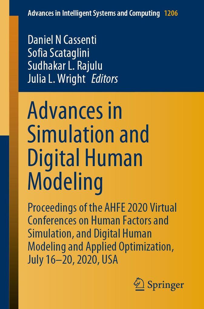 Advances in Simulation and Digital Human Modeling als eBook pdf