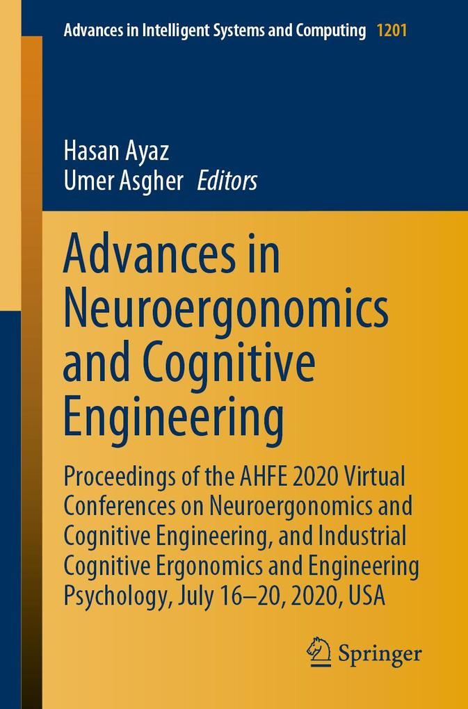Advances in Neuroergonomics and Cognitive Engineering als eBook pdf