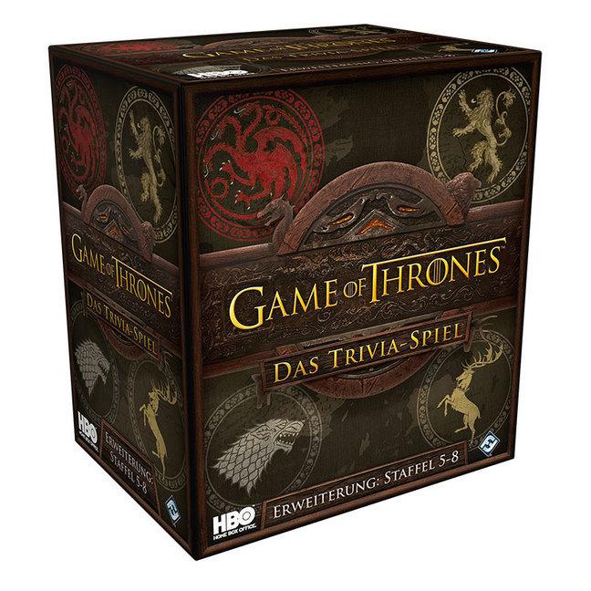 Image of Asmodee FFGD0171 - Game of Thrones: Das Trivia-Spiel, Episode 5-8, Erweiterung, Experten-Spiel