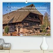 Schönes Südwest-Deutschland Streifzüge zwischen Rhein, Rebland und Schwarzwald (Premium, hochwertiger DIN A2 Wandkalender 2021, Kunstdruck in Hochglanz)