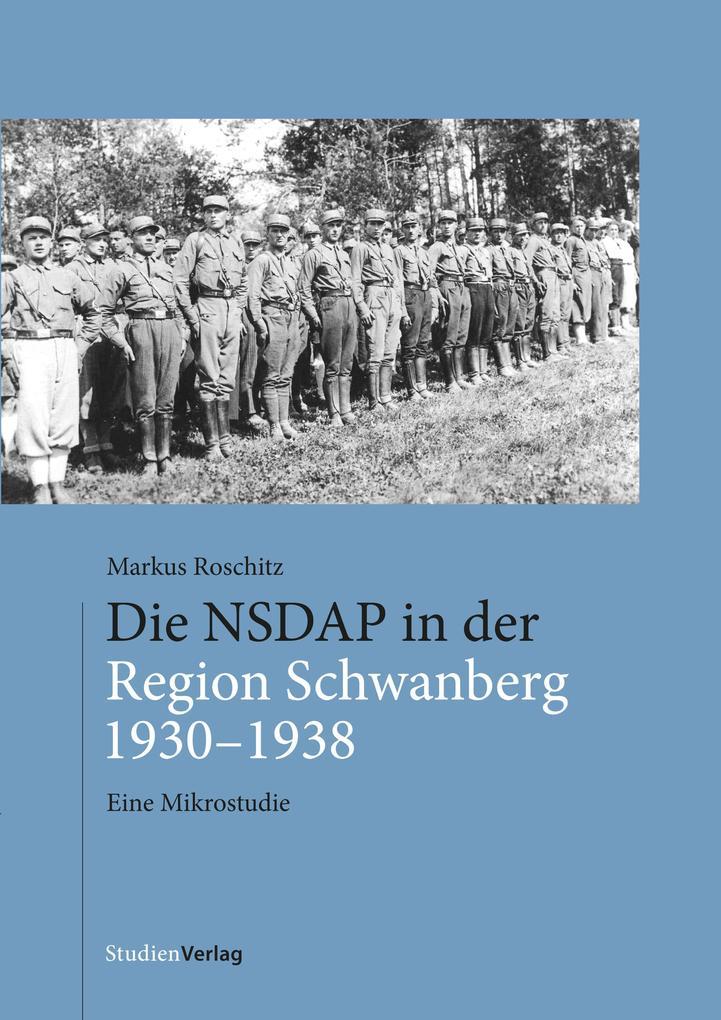 Die NSDAP in der Region Schwanberg 1930-1938 als eBook epub