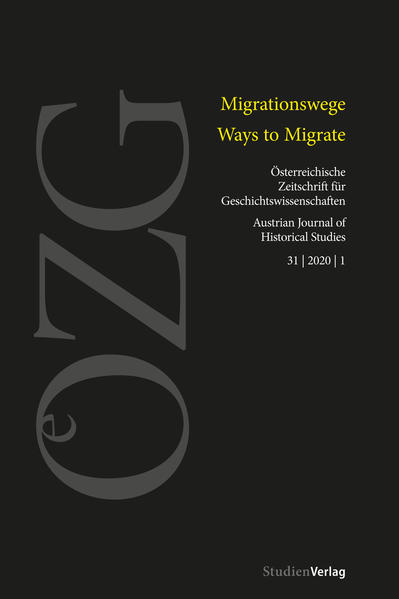 Österreichische Zeitschrift für Geschichtswissenschaften 1/2020 als Buch