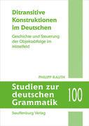 Ditransitive Konstruktionen im Deutschen