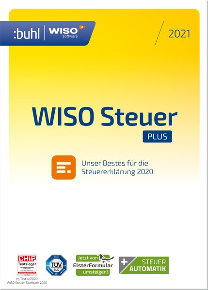WISO steuer:Plus 2021 (Software) - portofrei